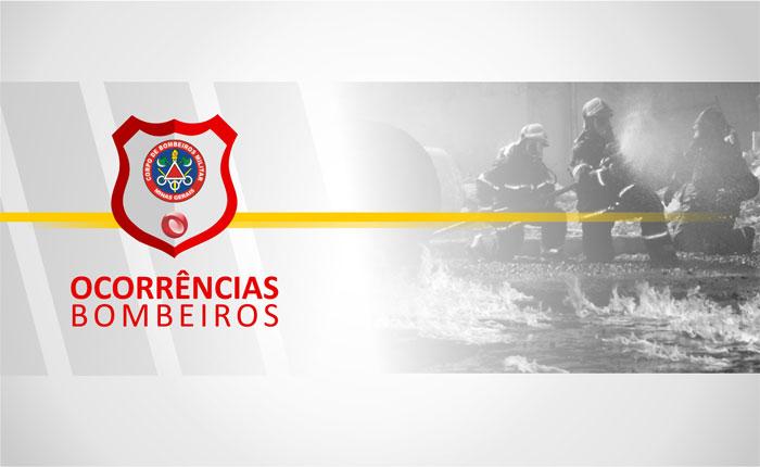 Bombeiros atendem capotamento de veículo na av. Danilo Cunha