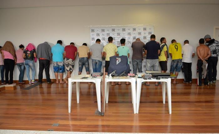 Polícia Civil de Araxá desencadeia Mega Operação em Uberaba