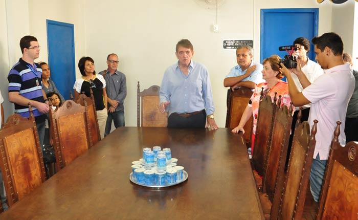 Prefeitura promove visita técnica com a imprensa às principais obras do município