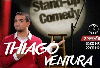 """Humorista Thiago Ventura apresentará stand up em Araxá, """"Isso é tudo que eu tenho"""""""