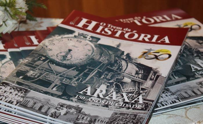 Lançamento da 2ª Edição da revista O Trem da História