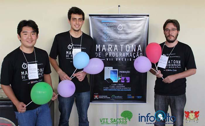 Alunos de Sistemas de Informação do Uniaraxá foram campeões em maratona regional