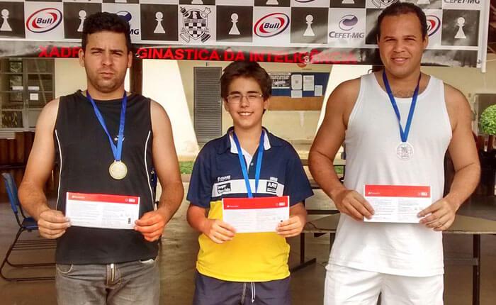 Vítor Amorin conquista Etapa Araxá do Circuito Minas Gerais de Xadrez
