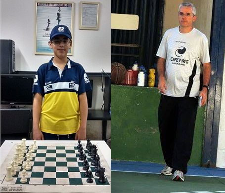 Araxaense Vítor representará o Brasil no Sulamericano Escolar de Xadrez no Paraguai