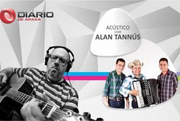 Programa Acústico com Alan recebe a banda 100% Caipira
