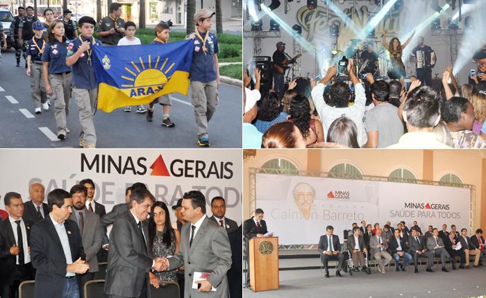 Araxá comemora 150 com uma série de eventos