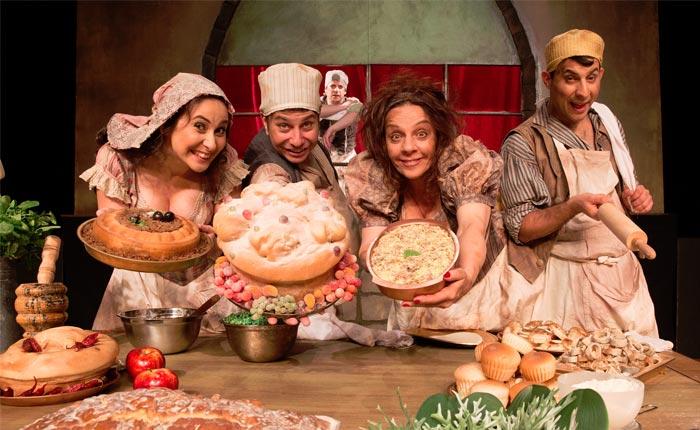 Campanha Vá ao Teatro apresenta a comédia 'Hamlet ao Molho Picante'
