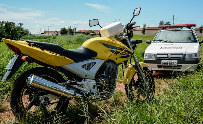 PM recupera moto e apreende menores envolvidos em furtos na cidade