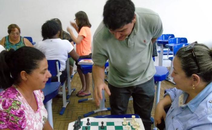 Xadrez é realidade na Rede Municipal de Educação