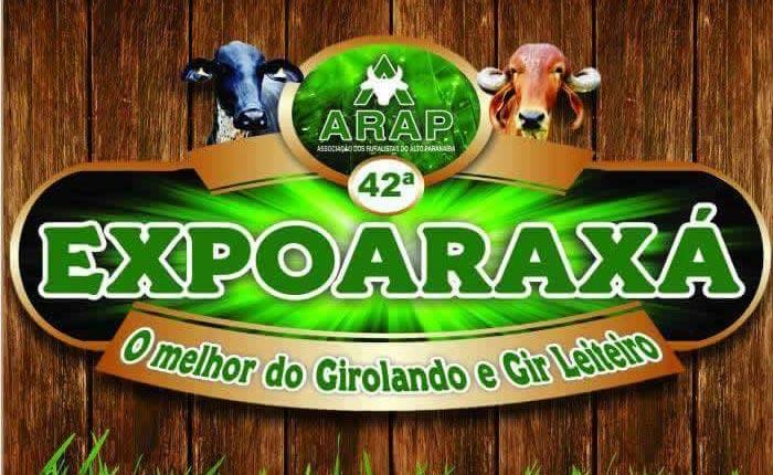 Confira os shows da ExpoAraxá 2016