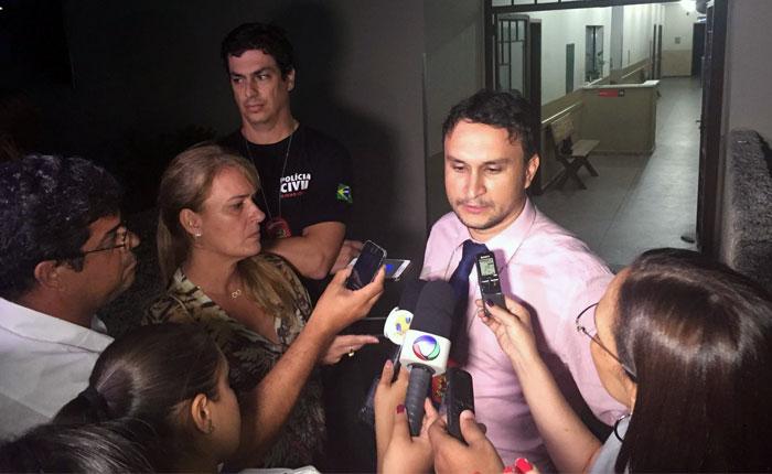 Polícia Civil fala sobre prisão de suspeitos de matarem o casal Higor e Rafaela
