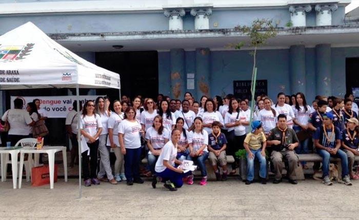 Secretaria de Saúde promove mobilização contra a dengue