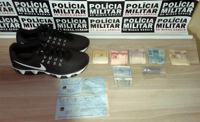 PM prende autor de vários roubos ocorridos em estabelecimentos comerciais de Araxá