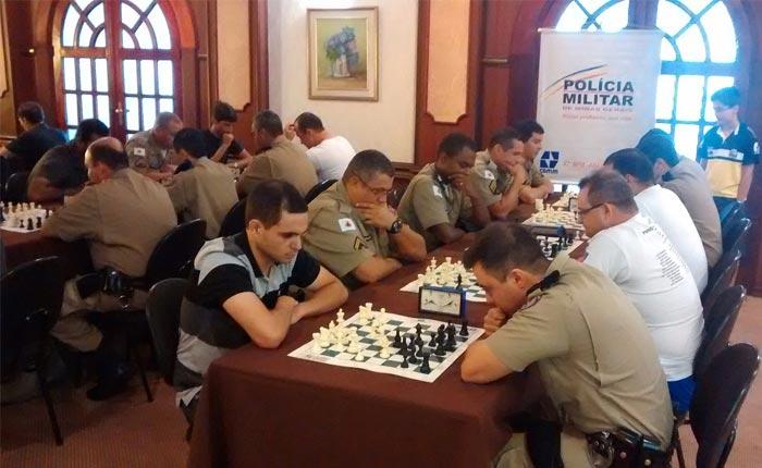 Sargento Gonçalves é campeão do 2º Torneio de Xadrez do 37º BPM de MG