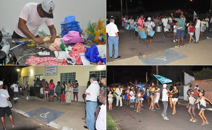 Escolas de Samba de preparam para o Carnaval de Araxá
