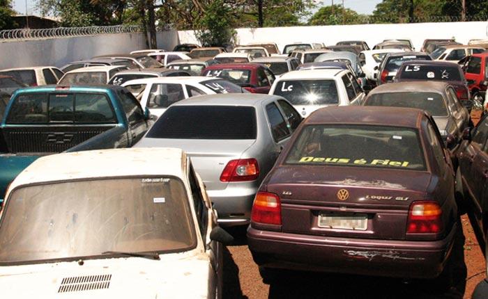 Polícia Civil fiscalizará pátios de veículos apreendidos