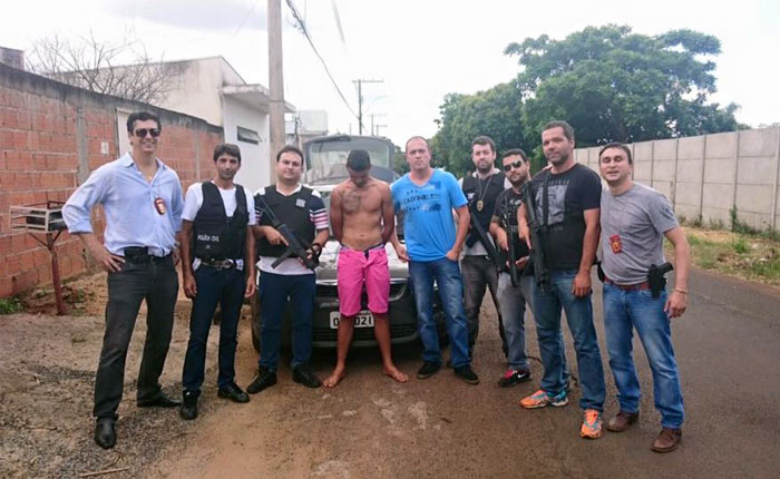 Polícia Civil realiza a prisão de Yuri Santiago