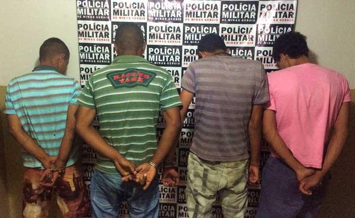 Autores de roubo na cidade de Araxá são presos pela PM