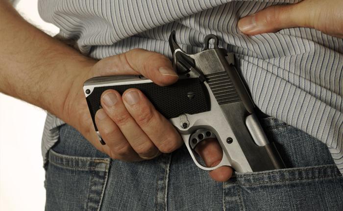 Armas de fogo causam 76% dos homicídios, diz pesquisa
