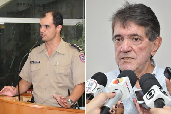 Comandante da PM comenta declarações de Renato Zupo sobre segurança pública; Aracely não se pronuncia