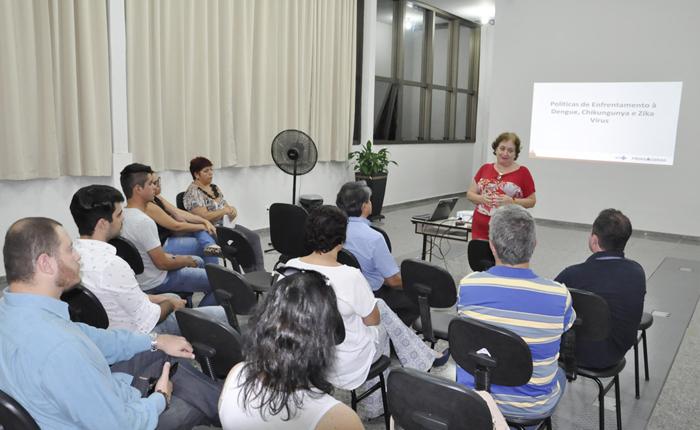 Secretaria de Saúde realiza reunião com Comitê de Enfrentamento de Combate à Dengue