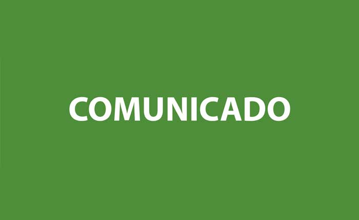 Comunicado da Secretaria Municipal de Educação