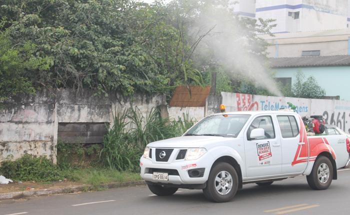 Casos positivos de dengue passam de 650 em Araxá