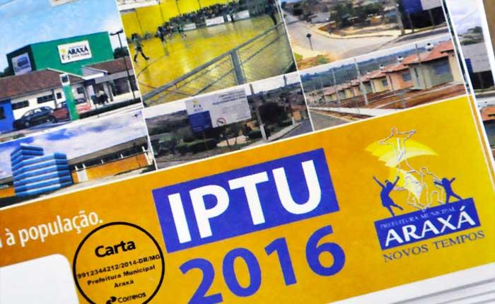 Prefeitura prorroga prazo para pagamento do IPTU 2016