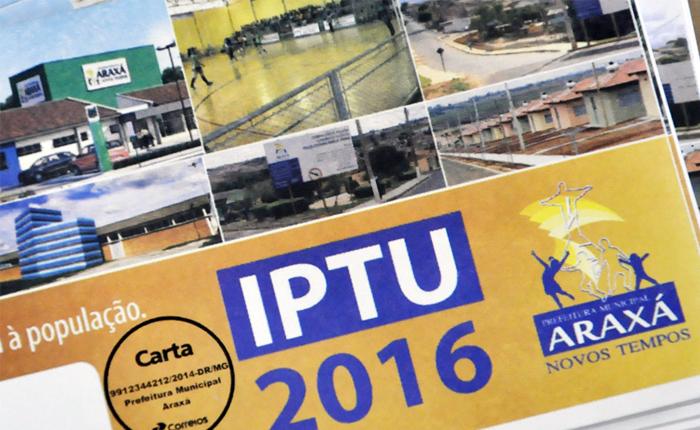 Primeira parcela do IPTU vence dia 28 de março