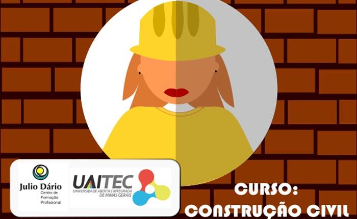 Centro Julio Dário – Polo Uaitec araxá disponibilizam curso de construção civil