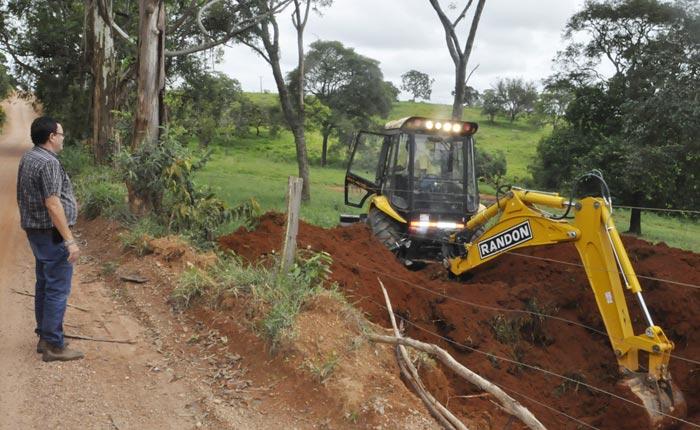 Estrada do Mourão Rachado recebe investimentos de R$ 560 Mil