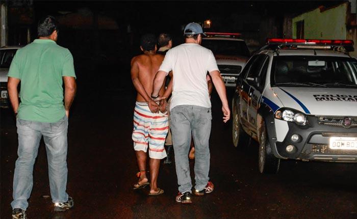 Roubo seguido de tentativa de homicídio em bar na rua Uberaba