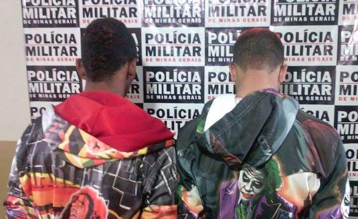 Polícia Militar de Araxá apreende dois menores por tráfico de drogas