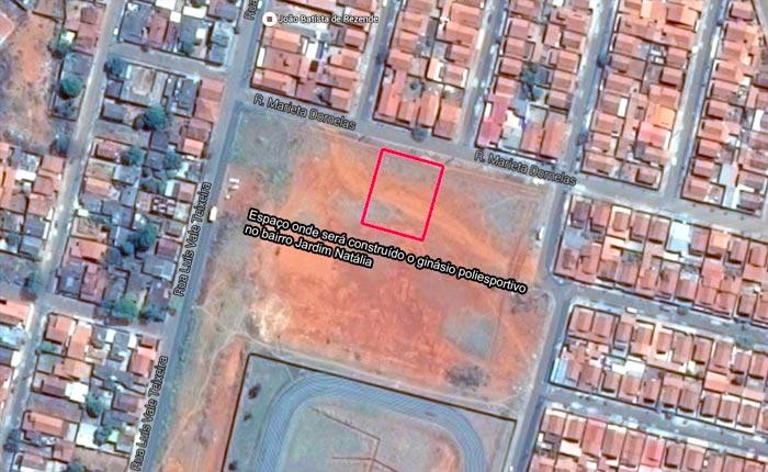 Ginásio no Jardim Natália terá investimento de R$ 1,2 milhão