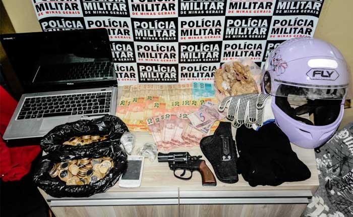 PM prende autores de diversos roubos em Araxá