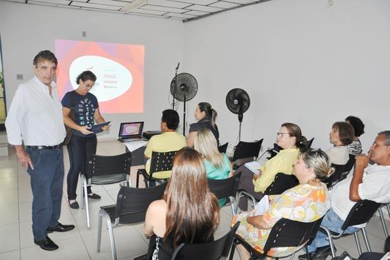 Prefeito e secretariado municipal se reúnem para apresentação do projeto da passagem da Tocha Olímpica