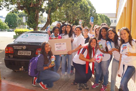 Pastoral do Colégio Dom Bosco realizada campanha beneficente