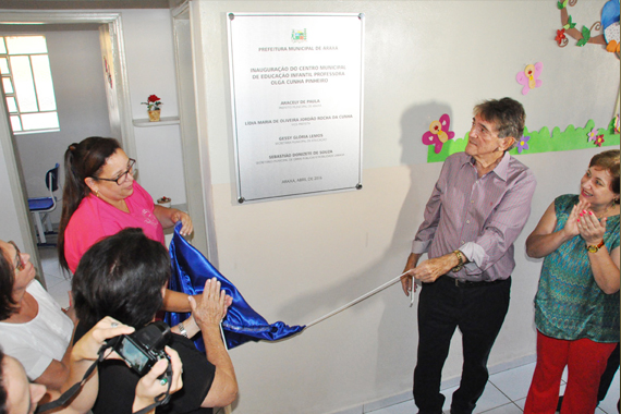 Cemei Central é inaugurado para receber 130 crianças