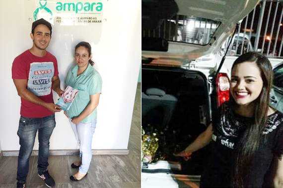 DCE do Uniaraxá faz doações com projeto de carteirinhas solidárias