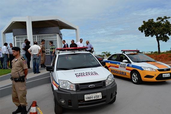 Guarita do Distrito Industrial funciona como Ponto de Apoio da Polícia