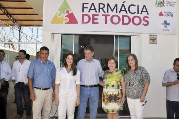 Inaugurada a Farmácia de Todos, no bairro São Domingos
