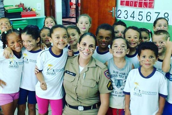 37º BPM implementa PROERD Infantil em escolas de Araxá