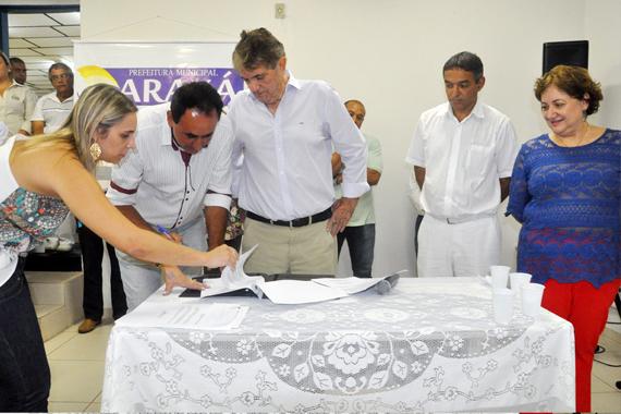Novos secretários de Saúde e de Serviços Urbanos tomam posse