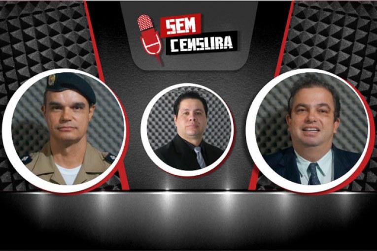 Juiz criminal e comandante da PM debatem a segurança em Araxá