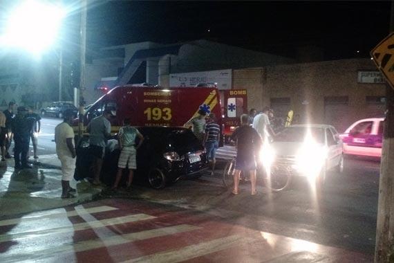 Polícia Militar registra acidente de trânsito na av. Senador Montandon
