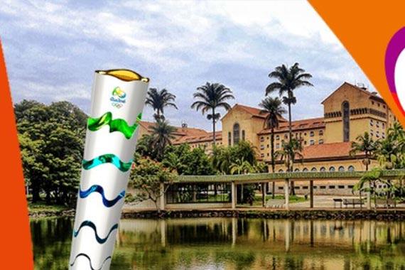 Passagem da Tocha Olímpica por Araxá ganha página especial em rede social