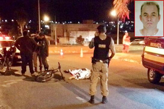 Ciclista morre em acidente de trânsito na avenida Pedro de Paula Lemos