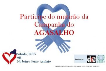 Campanha do Agasalho faz mutirão no bairro Santo Antônio