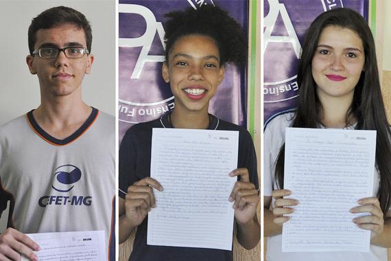Concurso de redação coloca alunos da rede pública em Revezamento da Tocha Olímpica