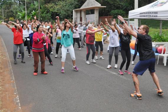 Atividades ao ar livre marcam datas comemorativas da saúde e da atividade física